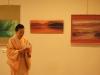 Japonijos ambasadorė dailininko tapybos parodoje