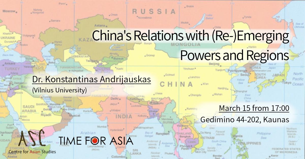 Karta World.Azijos Studijų Centras Asc Azijos Regiono Studijos Vdu Kaunas